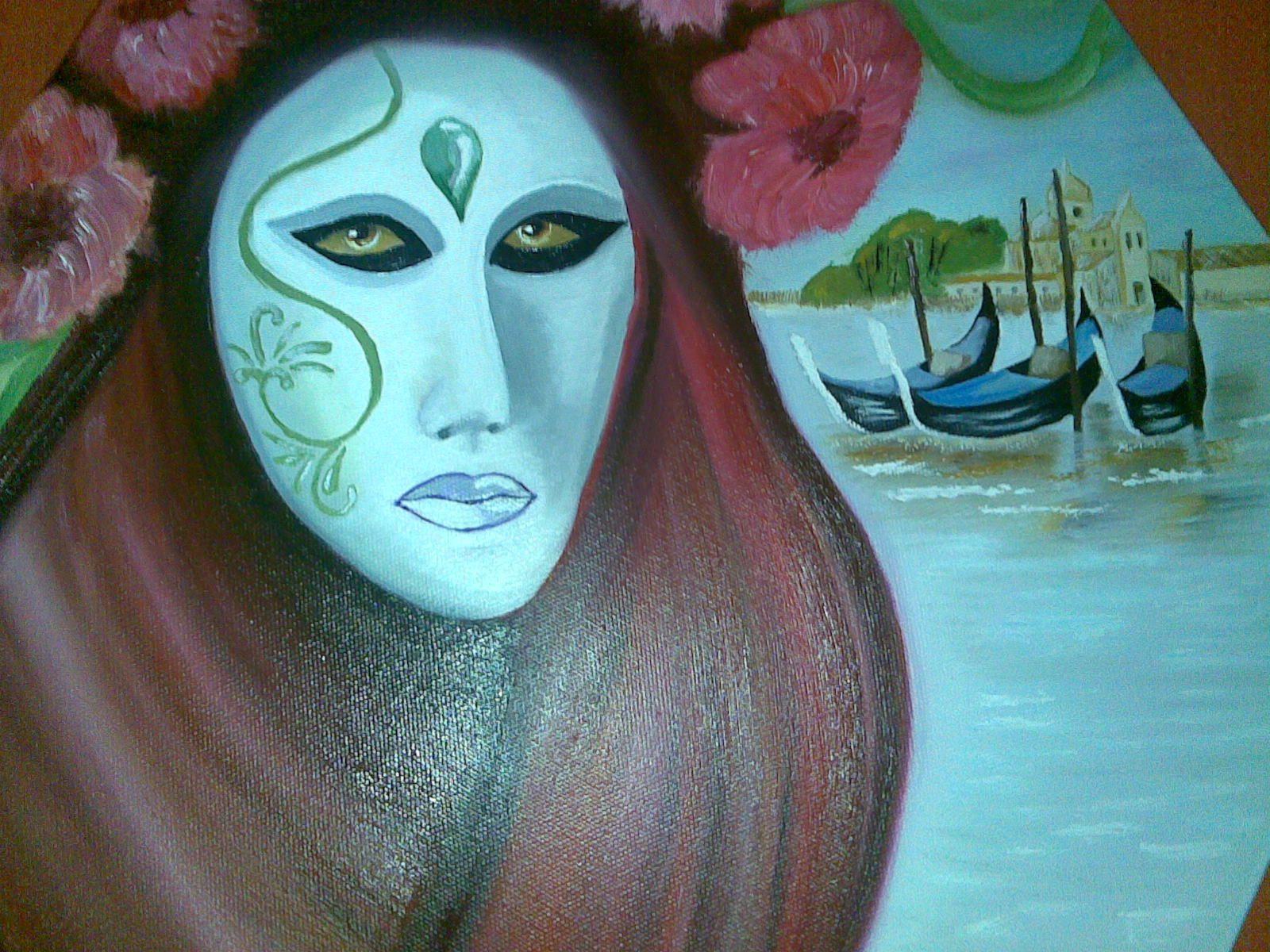 Masque de venise - Masque a peinture ...